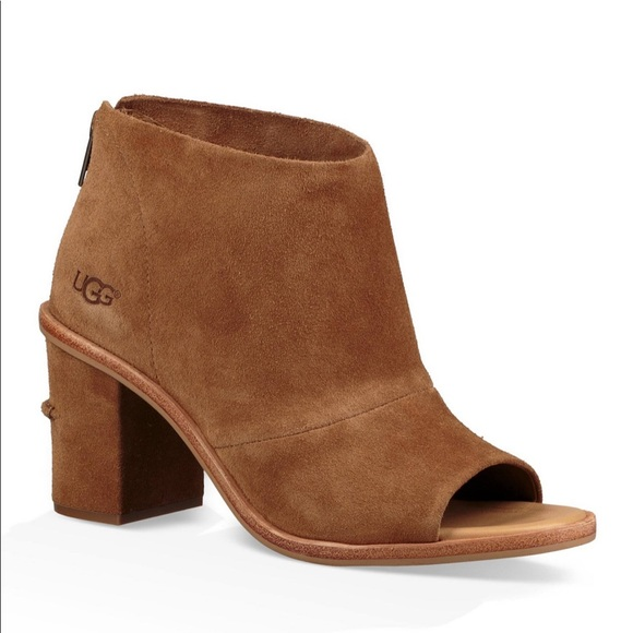 92199e55f60 NWOT Ugg Tan Suede Ginger Boots Size 11